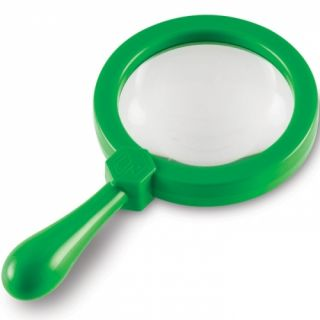 Learning Resources Jumbo Children's Magnifying Glass Single Science and Nature
