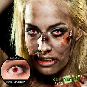 Designlenses© Colored Contact Lenses Crazy Lenses Vampire Zombie Lenses
