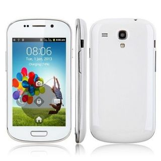 "New 4 0"" Unlocked Android Smartphone GSM Dual Sim WiFi at T Straight Talk Blue"