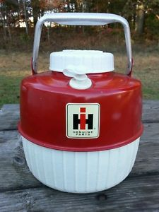 1960's Vintage International Harvester Tractor Coleman Water Cooler