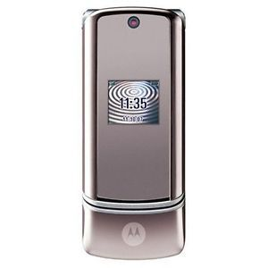New Motorola KRZR K1 Unlocked Phone GSM at T T Mobile Flip Silver Grey