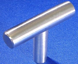 Lot of 25 New Solid Stainless Bar Cabinet Knob Pulls 2""