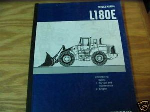 Volvo L180E Wheel Loader Service Manual