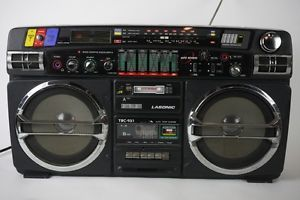 Lasonic TRC 931 Vintage 80s Boombox Radio Tape Player