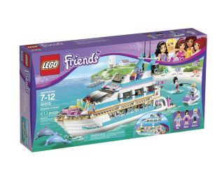 Lego Friends Dolphin Cruise Liner Ocean Adventure 3 Mini Dolls Build Play New