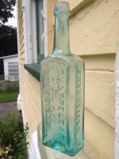 Another Pontil or Civil War Era Ohio Druggist Bottle This One's from Zanesville