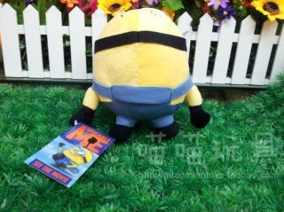 New Despicable Me Movie Character Plush Toy Minion Dave 3D Soft Doll Toys Hot 2