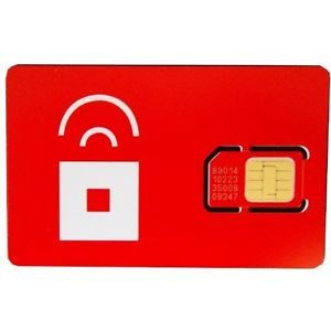 Red Pocket Sim Card MicroSim GSM 2G 3G 4G iPhone iPad Android Galaxy S3 Note