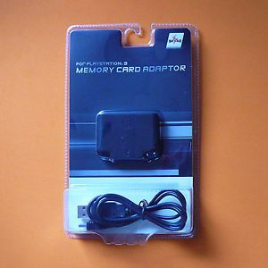 PS PS2 Memory Card Adapter Adaptor Converter Reader for PS3 USB Mayflash