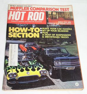 Hot Rod Magazine 1973