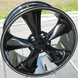 "18"" Black FOOSE Legend SS Wheels Rims Mustang Explorer Fusion Edge Nitro Accord"