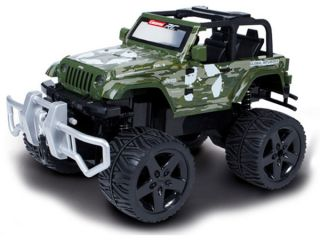 Carrera Jeep Wrangler Rubicon with Winch Green CA162011