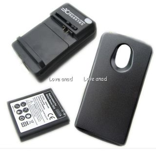 New 3800mAh Extended Battery Case Charger Verizon Samsung Galaxy Nexus I515