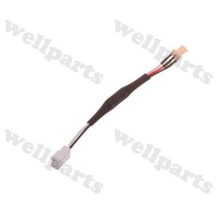 1pc 3 Pin Fan Wire Denoise Decelerate Extension Cable