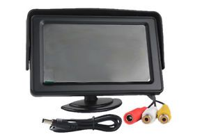 4 3inch Dashboard Backup TFT LCD Color Display Vehicle Security System Monitor