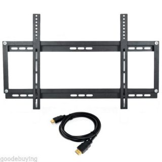 "Full Motion Tilt Swivel Wall TV Mount Universal Flat LCD LED 14 24"" HDMI Cable"