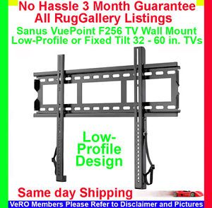 Sanus Vuepoint F256 Low Profile TV Wall Mount LCD LED Flat Screen Monitor 32 60