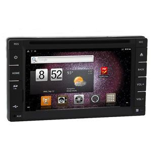 Android Car Stereo GPS Navigation  4 DVD Player FM Bluetooth iPod Head Unit