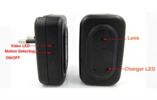 4GB USB AV Charger Spy Hidden Camera DVR