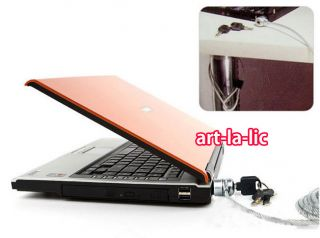 Notebook Laptop Computer PC Security Key Lock Cable Chain Anti Theft Lock