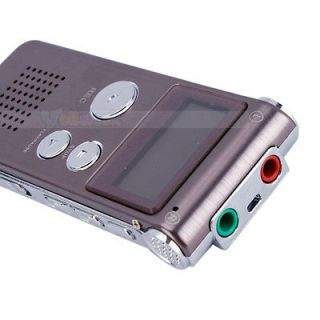 2GB 540hr Digital Audio Voice Recorder Pen Dictaphone  Player Claret Red