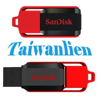 SanDisk Cruzer Switch 4GB 4G USB2 0 Flash Pen Drive Memory Stick Key Thumb Drive 619659067403
