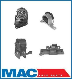 Engine Motor Transmission Mount Kit 2004 2006 Nissan Maxima 3 5L 4 Piece Kit