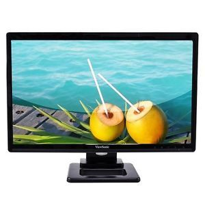 "Viewsonic TD2420 LED LCD Monitor 24"" Touchscreen 1080p HDMI DVI USB w Speakers"