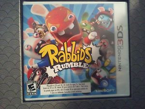 Nintendo 3DS DS Game Rabbids Rumble Brand New Factory SEALED