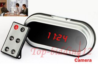 Details about HD 1080P Table Alarm Clock Hidden Spy Camera DVR