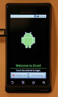 motorola droid a855 android wifi gps verizon phone qwerty keyboard no