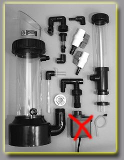 Large Aquarium Protein Skimmer 300gal Fish Tank Filter Water Pump not Including