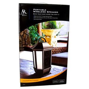 Acoustic Research AW826 Wireless Lantern Style Indoor Outdoor Speaker