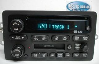 Chevy Impala Monte Carlo Venture 2000 2001 CD Cassette Player UP0 Tested 2466BG