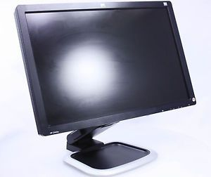 "HP L2445W 24"" Widescreen Rotating Flat Panel LCD Monitor Black Grade A"
