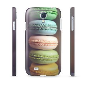 Pastel Macaroons Yummy Hard Cover Case for iPhone Android 65 Other Phones