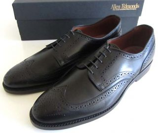 New Allen Edmonds Players Wingtip Oxford 11 D Shoes $335