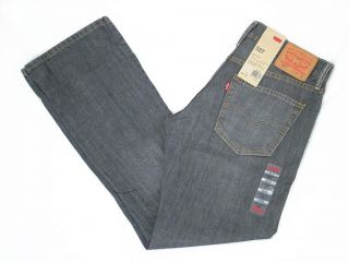 Mens Levis 527 Slim Boot Cut Jeans Grey Gray Quartz 05527 0247