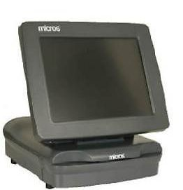"Micros POS PCWS 2010 Terminal with 12"" Touch Screen Brand New"