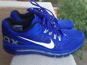 Nike Air Max 2013 Men's Running Training Shoes Size 10 Blue $180