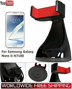 Montar in Car Mount Windshield Dashboard Holder Stand for Samsung Galaxy Note 2