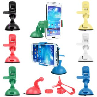 Universal Car Suction Mount Holder Stand for iPhone Mobile Phone GPS Samsung S4
