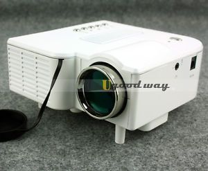 Free Shiping Mini Projector LED Projectors LCD Display Laptop Pocket Multimedia