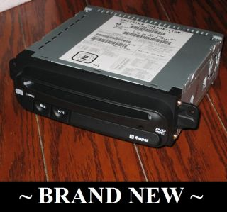 New 2002 2006 Chrysler Town Country DVD CD Player