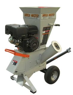 Chipper Shredder CH3 by Brush Master 11 HP Commercial Duty with 3in Feeder