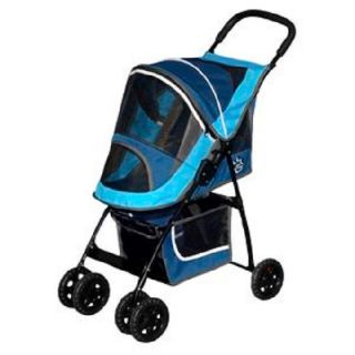 New Premium Designer Pet Gear Sport Dog Stroller Dog Cat Puppy Travel Safety