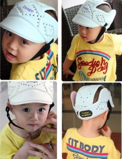 Baby Infant Toddler Safety Protective Head Gear Helmet Hat Cap