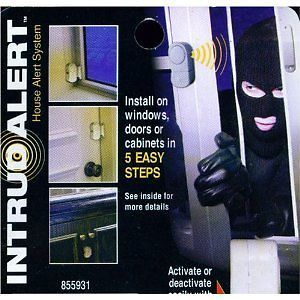 Door Window Cabinet Alarm Intrud Alert Safety Security