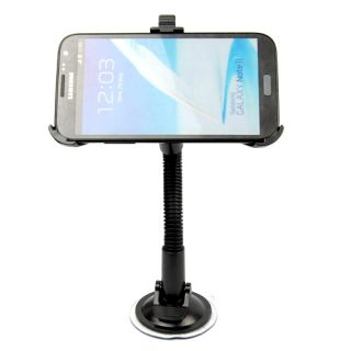 Car Windscreen Windshield Mount Holder Stand for Samsung Galaxy Note 2 II N7100