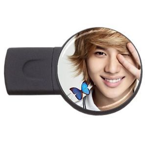 SHINee Lee Taemin Butterfly Smile K Pop Photo USB Flash Drive Memory Stick 2GB